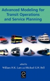 Jacket Image For: Advanced Modeling for Transit Operations and Service Planning