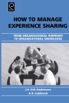 Jacket Image For: How to Manage Experience Sharing