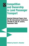 Jacket Image For: Competition and Ownership in Land Passenger Transport