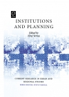 Jacket Image For: Institutions and Planning