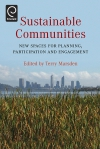 Jacket Image For: Sustainable Communities