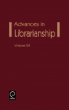 Jacket Image For: Advances in Librarianship