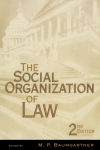 Jacket Image For: The Social Organization of Law