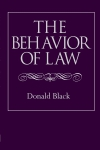 Jacket Image For: The Behavior of Law