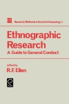 Jacket Image For: Ethnographic Research