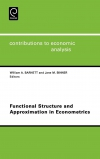 Jacket Image For: Functional Structure and Approximation in Econometrics