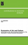 Jacket Image For: Economics of Art and Culture