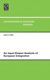 Jacket Image For: An Input-output Analysis of European Integration