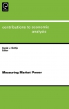 Jacket Image For: Measuring Market Power