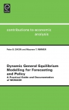 Jacket Image For: Dynamic General Equilibrium Modelling for Forecasting and Policy