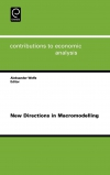 Jacket Image For: New Directions in Macromodelling