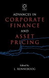 Jacket Image For: Advances in Corporate Finance and Asset Pricing