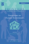 Jacket Image For: Frontiers of Family Economics