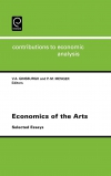 Jacket Image For: Economics of the Arts