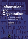 Jacket Image For: Information and Organization
