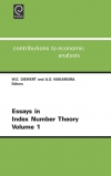 Jacket Image For: Essays in Index Number Theory