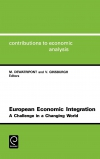 Jacket Image For: European Economic Integration