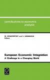 Jacket Image For: European Economic Integration