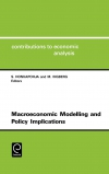 Jacket Image For: Macroeconomic Modelling and Policy Implications