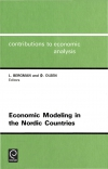 Jacket Image For: Economic Modeling in the Nordic Countries