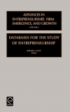 Jacket Image For: Databases for the Study of Entrepreneurship