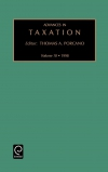 Jacket Image For: Advances in Taxation