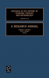 Jacket Image For: A Research Annual
