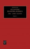 Jacket Image For: Advances in Accounting Behavioral Research