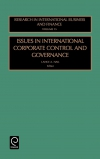 Jacket Image For: Issues in International Corporate Control and Governance