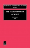 Jacket Image For: The Transformation of Work