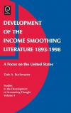 Jacket Image For: Development of the Income Smoothing Literature, 1893-1998