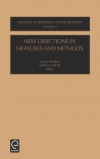 Jacket Image For: New Directions in Measures and Methods