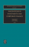 Jacket Image For: Innovations in Investments and Corporate Finance