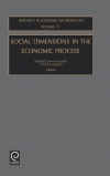 Jacket Image For: Social Dimensions in the Economic Process
