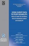Jacket Image For: Using Survey Data to Study Disability