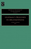 Jacket Image For: Legitimacy Processes in Organizations