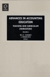 Jacket Image For: Advances in Accounting Education
