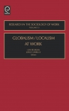 Jacket Image For: Globalism/Localism at Work