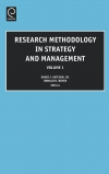 Jacket Image For: Research Methodology in Strategy and Management