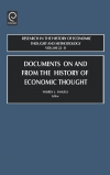 Jacket Image For: Documents on and from the History of Economic Thought