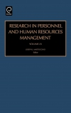Jacket Image For: Research in Personnel and Human Resources Management