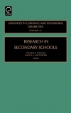 Jacket Image For: Research in Secondary Schools