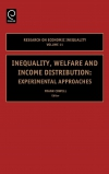 Jacket Image For: Inequality, Welfare and Income Distribution