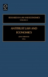 Jacket Image For: Antitrust Law and Economics