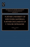 Jacket Image For: Further University of Wisconsin Materials