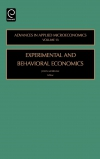 Jacket Image For: Experimental and Behavorial Economics