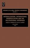 Jacket Image For: Internalization, International Diversification and the Multinational Enterprise