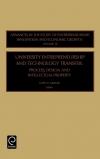 Jacket Image For: University Entrepreneurship and Technology Transfer