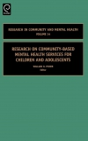 Jacket Image For: Research on Community-Based Mental Health Services for Children and Adolescents