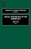 Jacket Image For: Social Psychology of the Workplace